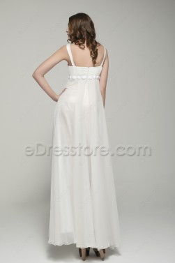 Elegant Flowing Chiffon Beach Wedding Dresses
