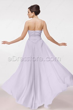 Soft Lavender Maternity Bridesmaid Dresses