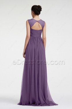 Lavender Maternity Evening Dresses Formal Dress for Pregnant