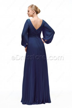 Modest Long Sleeves Mother of the Bride Dresses