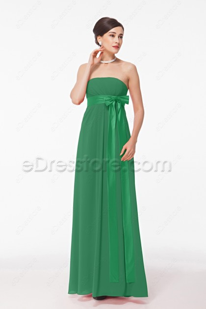 Green Maternity Evening Dresses Plus Size