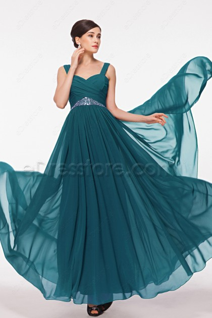 Teal Maid of Honor Dresses Bridesmaid Dresses