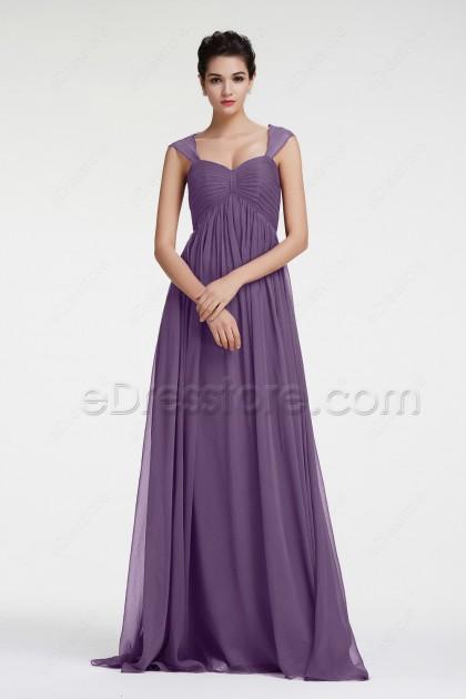 Lavender Maternity Evening Dresses Formal Dress for Pregnant