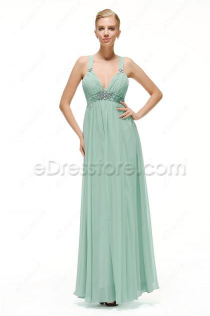 Pastel Green Maternity Formal Dresses For Wedding