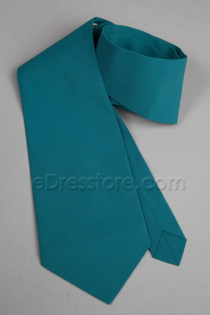 Men's Tie in the Same Fabric and Color as Your Dress