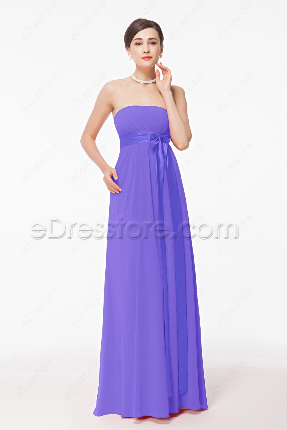 lavender long maternity bridesmaid dresses for pregnant