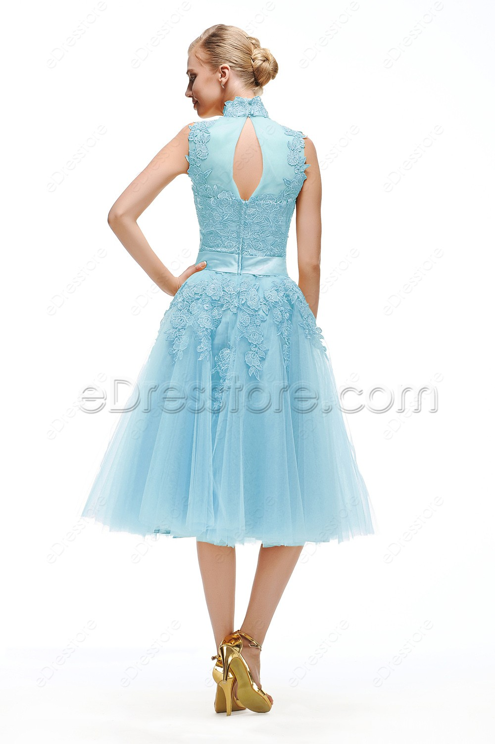 Cheap Tea Length Prom Dresses - Homecoming Prom Dresses