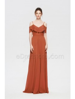 Terracotta Convertible Bridesmaid Dresses