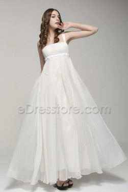 Edresstore shop for wedding dresses and gowns online for Flowing beach wedding dresses