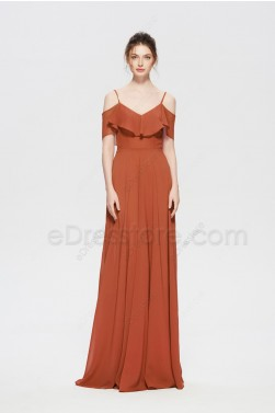 Terracotta Convertible Bridesmaid Dresses
